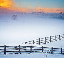 Welsh Winter Sunrise by Heidi Stewart