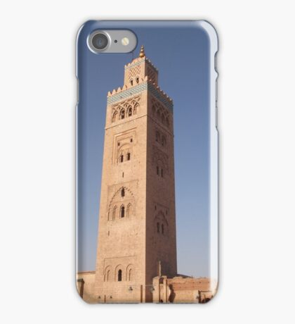 Marrakesh Minaret iPhone Case/Skin
