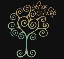 Love Life Tree Tee by Amy-lee Foley