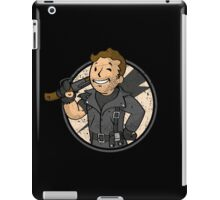 Warrior of the Road (sticker) iPad Case/Skin