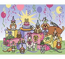Party Animals Photographic Print