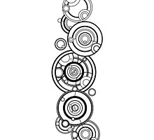Doctor Who - The Doctor's name in Gallifreyan #1 by BenH4
