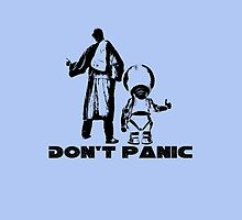 Don't Panic HitchHikers Guide to the Galaxy by NerdGirlTees