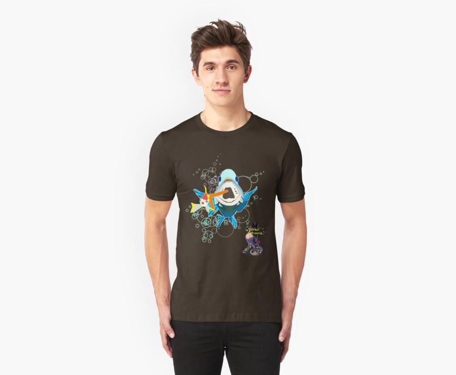 It's A Fish Eat Fish World by emmarogers