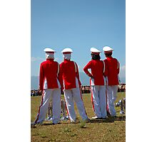 marching band members Photographic Print