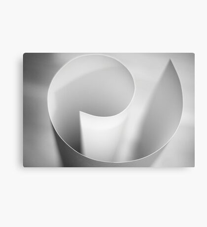 Paper abstract III (limited edition) Canvas Print