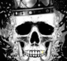 Kings Skull Sticker