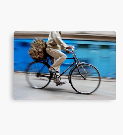Race Canvas Print