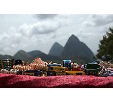 St Lucia piton-jewelry Photographic Print