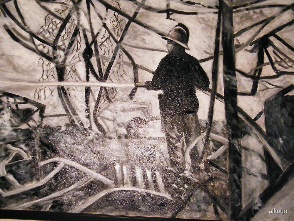The Firefighter by allwyn
