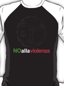 A Casual Classic iconic No Alla Violenza inspired t-shirt design T-Shirt  T-Shirt