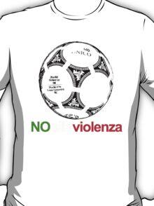 A Casual Classic iconic No Alla Violenza inspired t-shirt design T-Shirt  T-Shirt