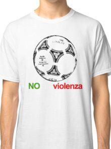 A Casual Classic iconic No Alla Violenza inspired t-shirt design T-Shirt  Classic T-Shirt