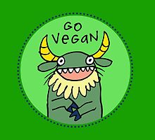 Go Vegan by fishcakes
