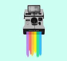 Polaroid Rainbow by eelagreen
