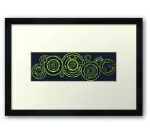 Doctor Who - The Doctor's name in Gallifreyan #3 Framed Print