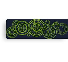 Doctor Who - The Doctor's name in Gallifreyan #3 Canvas Print