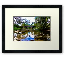 Stone Bridge - River Skirfare. Framed Print