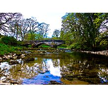Stone Bridge - River Skirfare. Photographic Print
