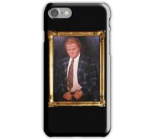 Biff Tannen Oil Painting Picture iPhone Case/Skin