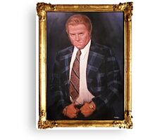 Biff Tannen Oil Painting Picture Canvas Print