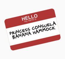 Princess Consuela Banana Hammock Kids Tee