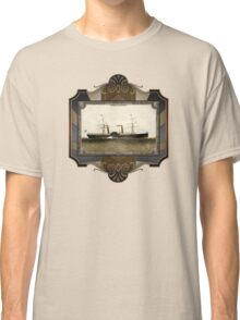 Steamship on Sea. Age of Steam #009 Classic T-Shirt