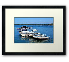 baywalk river in Palawan, Philippines Framed Print