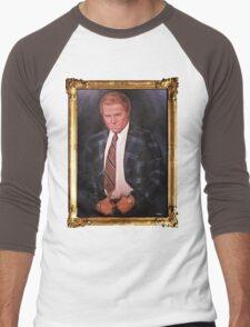 Biff Tannen Oil Painting Picture Men's Baseball ¾ T-Shirt