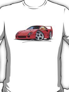 Ferrari F40 Red T-Shirt