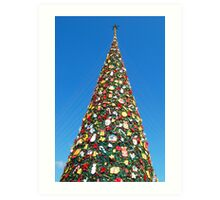 Giant Christmas Tree in Palawan, Philippines Art Print