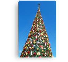 Giant Christmas Tree in Palawan, Philippines Canvas Print