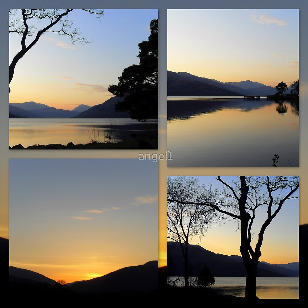 "Loch Lomond Sunset featured in ""Light of Love"" by ©The Creative  Minds"