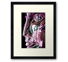 Metalica Framed Print