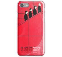 we were the robots (fade-out) iPhone Case/Skin