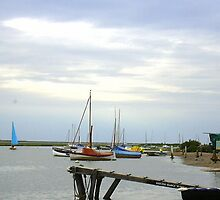 Blakeney Harbour by Ian Lyall