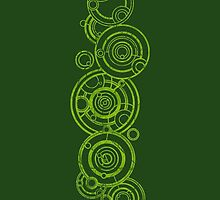 Doctor Who - The Doctor's name in Gallifreyan #3bis by BenH4