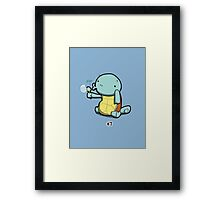 Number 7! Framed Print