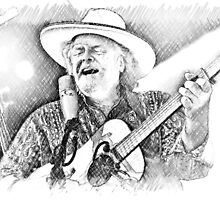 Peter Rowan by Spiritmaiden