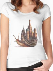 The Snail's Daydream Women's Fitted Scoop T-Shirt