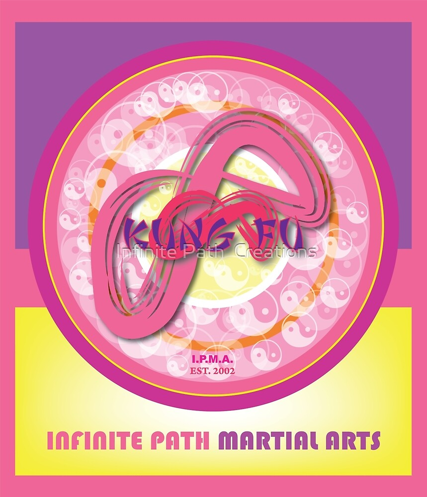 Infinite Path Martial Arts • Mandala • Pink by Infinite Path  Creations