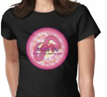 Infinite Path Martial Arts - Mandala - Pink Womens Fitted T-Shirt