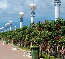 baywalk park in Palawan by walterericsy