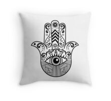 Hamsa Hand Throw Pillow