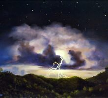 Night Thunderstorm by John Cocoris