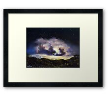 Night Thunderstorm Framed Print