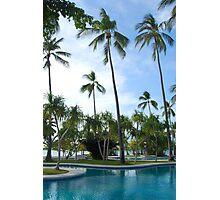 Dos Palmas resort swimming pool Photographic Print