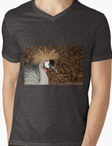 East African Crowned Crane Mens V-Neck T-Shirt