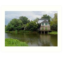 Ninoy Aquino Park and Wildlife Nature Center Lagoon Art Print