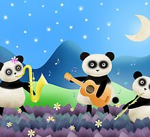 Panda Band by Hannah Chapman